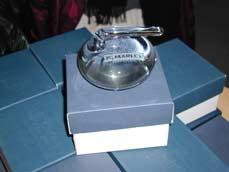 dárek pro vítěze turnaje